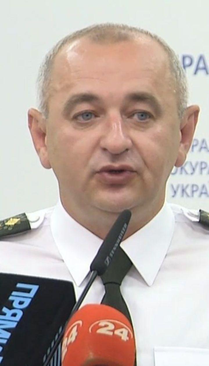 Генпрокурор Рябошапка уволил с должности главного военного прокурора Матиоса