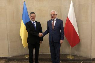 Новоназначенный глава МИД Пристайко провел первую встречу в Варшаве