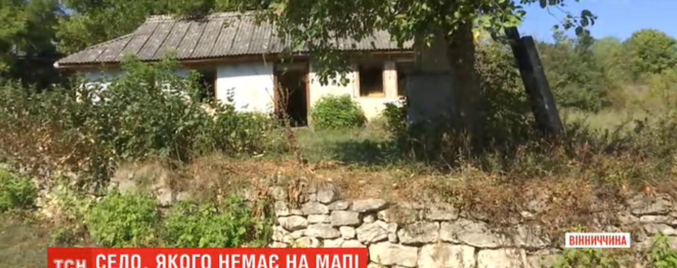 Без почты, магазина и больницы: как на Виннитчине существует село, которого нет на карте