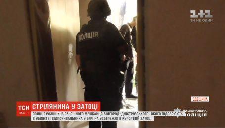 Поліція розшукує чоловіка, який влаштував стрілянину в курортній Затоці