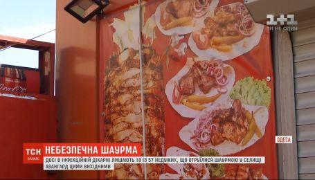Массовое отравление шаурмой в Одесской области: 18 человек до сих пор остаются в больнице