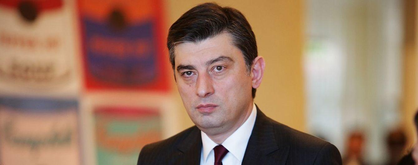 В Грузии утвердили нового премьер-министра, против которого протестовала оппозиция