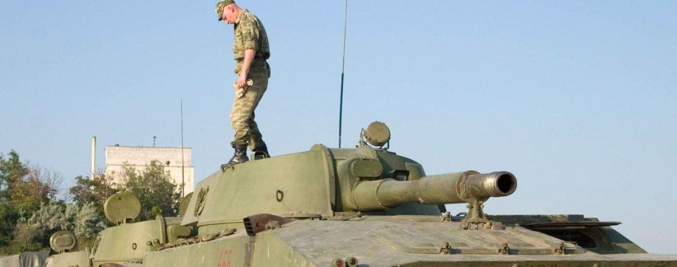 В России во время военных учений в танке утонул инструктор
