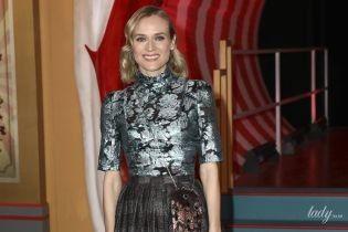 Красотки в стильных нарядах: Диана Крюгер и Джессика Честейн на премьере фильма в Лондоне