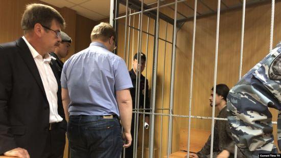 Російський суд посадив на три роки учасника протестів у Москві