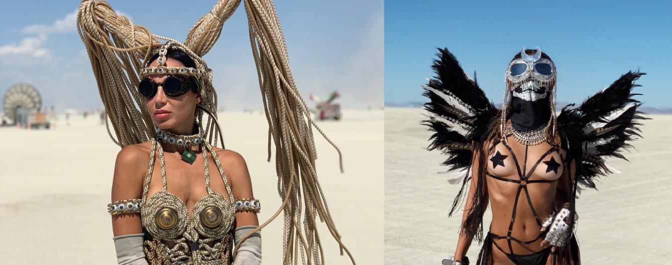 Счастливые и почти обнаженные. Самые горячие участницы Burning Man в 2019 фото из Instagram