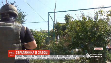 На Одещині поліція розшукує чоловіка, який влаштував стрілянину у барі