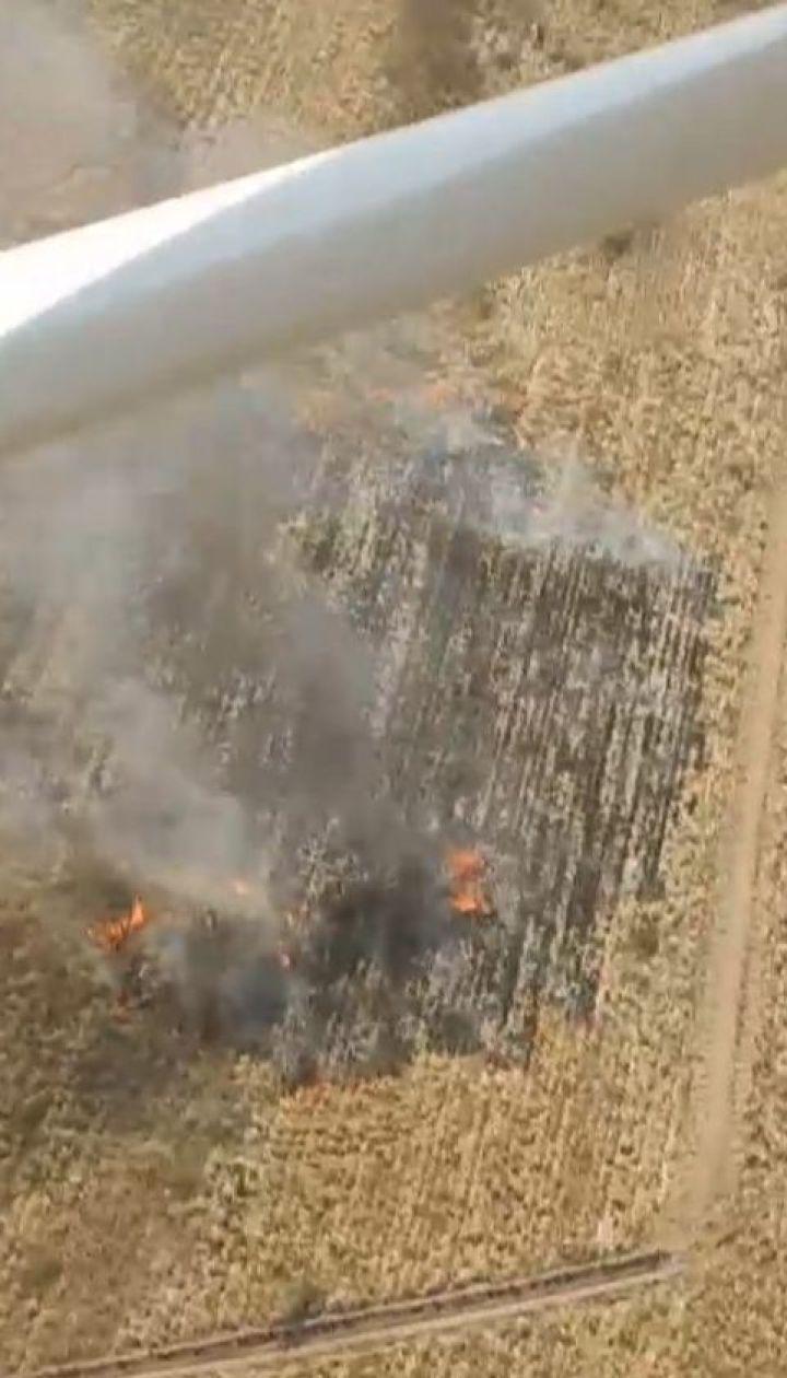 Більше 24 гектарів торфовищ за добу вигоріло на Київщині