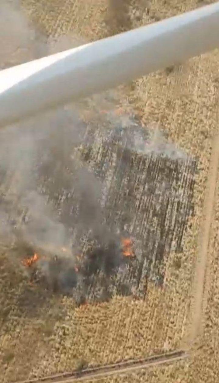 Более 24 гектаров торфяников за сутки выгорело в Киевской области