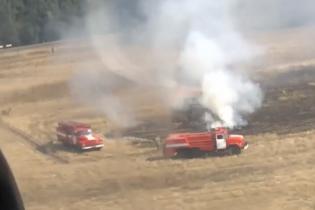 На Киевщине горят леса и торфяники: тушение осложняют пересохшие водоемы