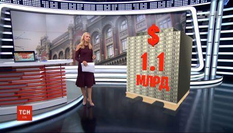 Украина выплатит долгов более чем на миллиард долларов
