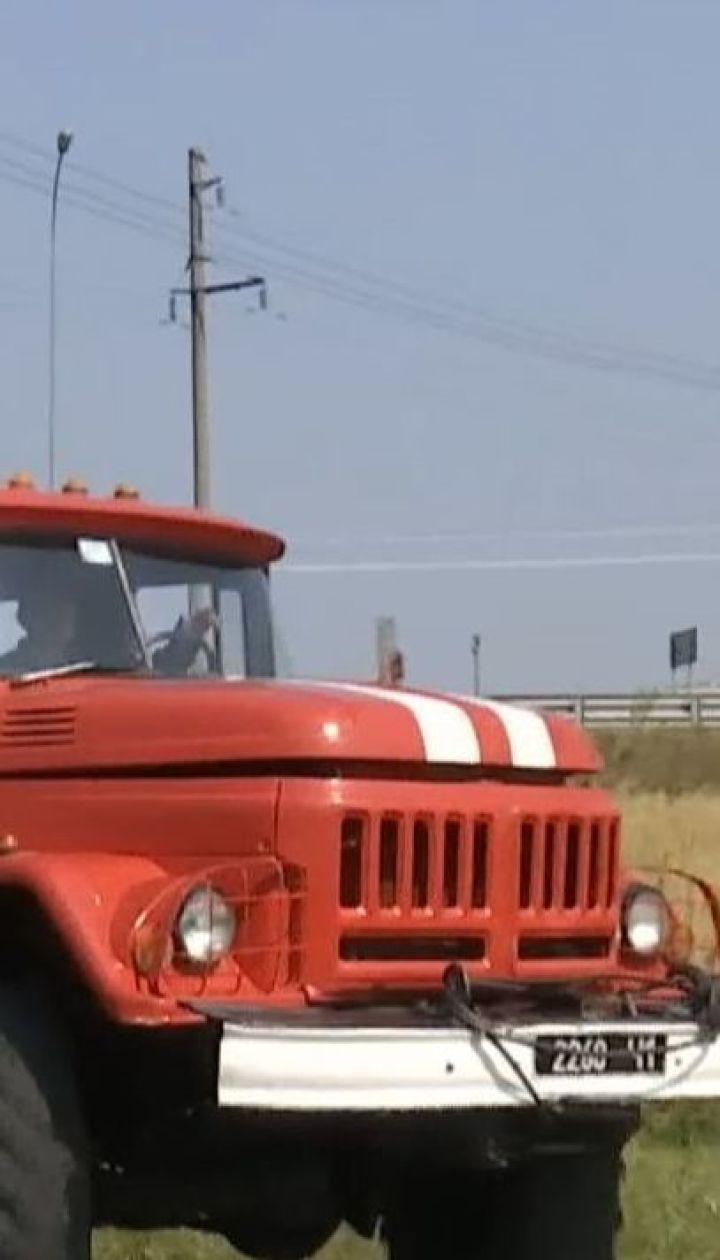 Найвищий рівень пожежної небезпеки: на Київщині горять торфовища, поля та ліси