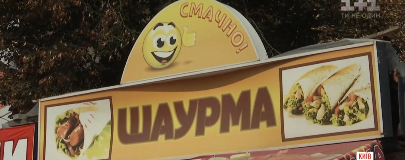 Після масового отруєння шаурмою у Києві поліція перевірить усі точки продажу вуличної їжі