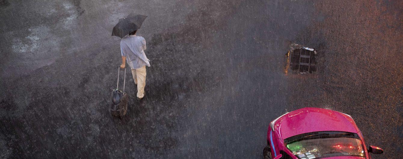 Почти всю Украину накроют дожди: погода на среду
