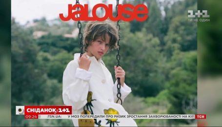11-річна донька Міли Йовович знялася у фотосесії для модного глянцю