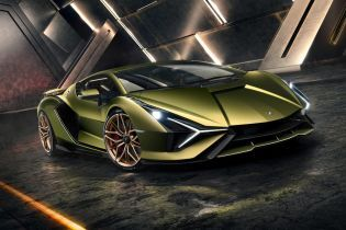 Гибрид Lamborghini Sian стал самым мощным гиперкаром марки