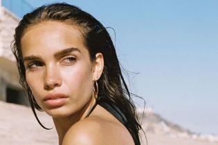 Подружка Бекхема - Гана Крос, поділилася серією пляжних знімків в бікіні