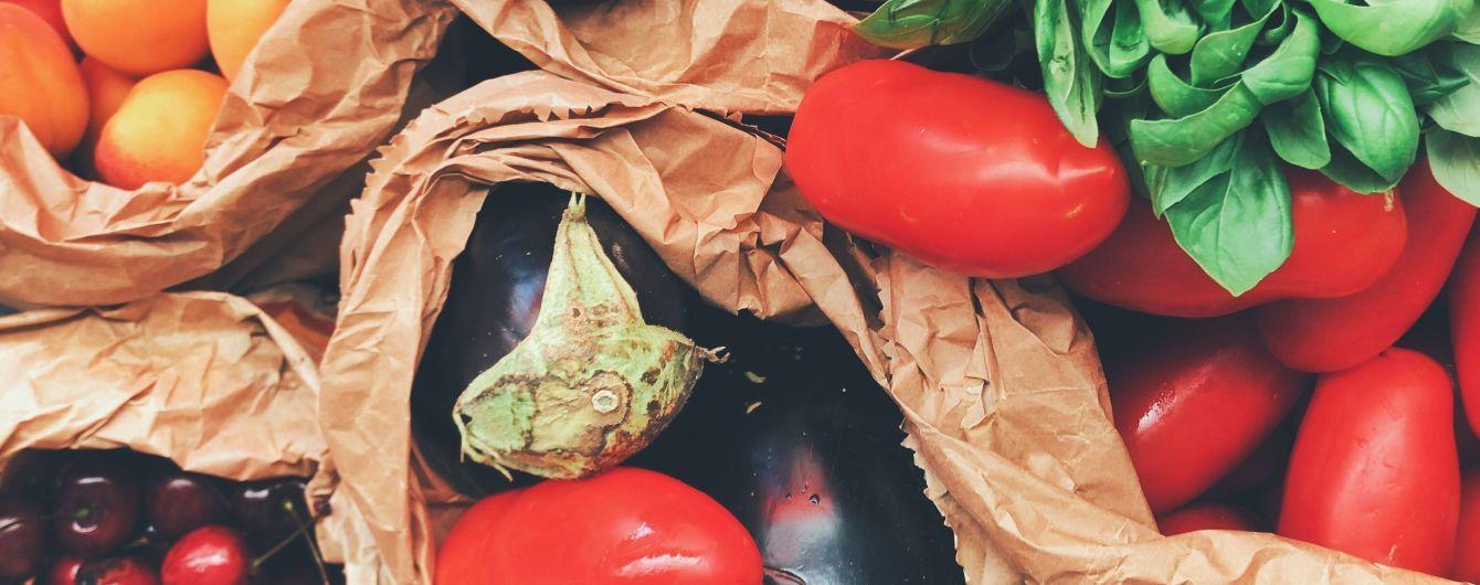 В Украине самые дешевые овощи и фрукты среди всех европейских стран