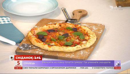 Пицца с разноцветными сырами от Севастьяна Фагэ