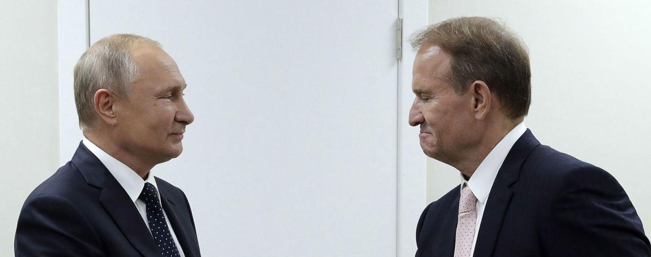 """Путин на встрече с Медведчуком заговорил о """"сложности вопроса"""" освобождения политзаключенных Клыха и Карпюка"""
