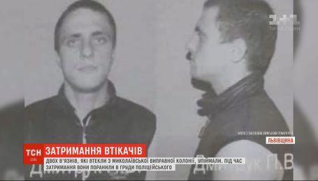 Двое заключенных ранили полицейского в грудь при попытке побега из исправительной колонии