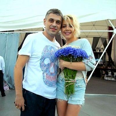 Тіна Кароль з чоловіком