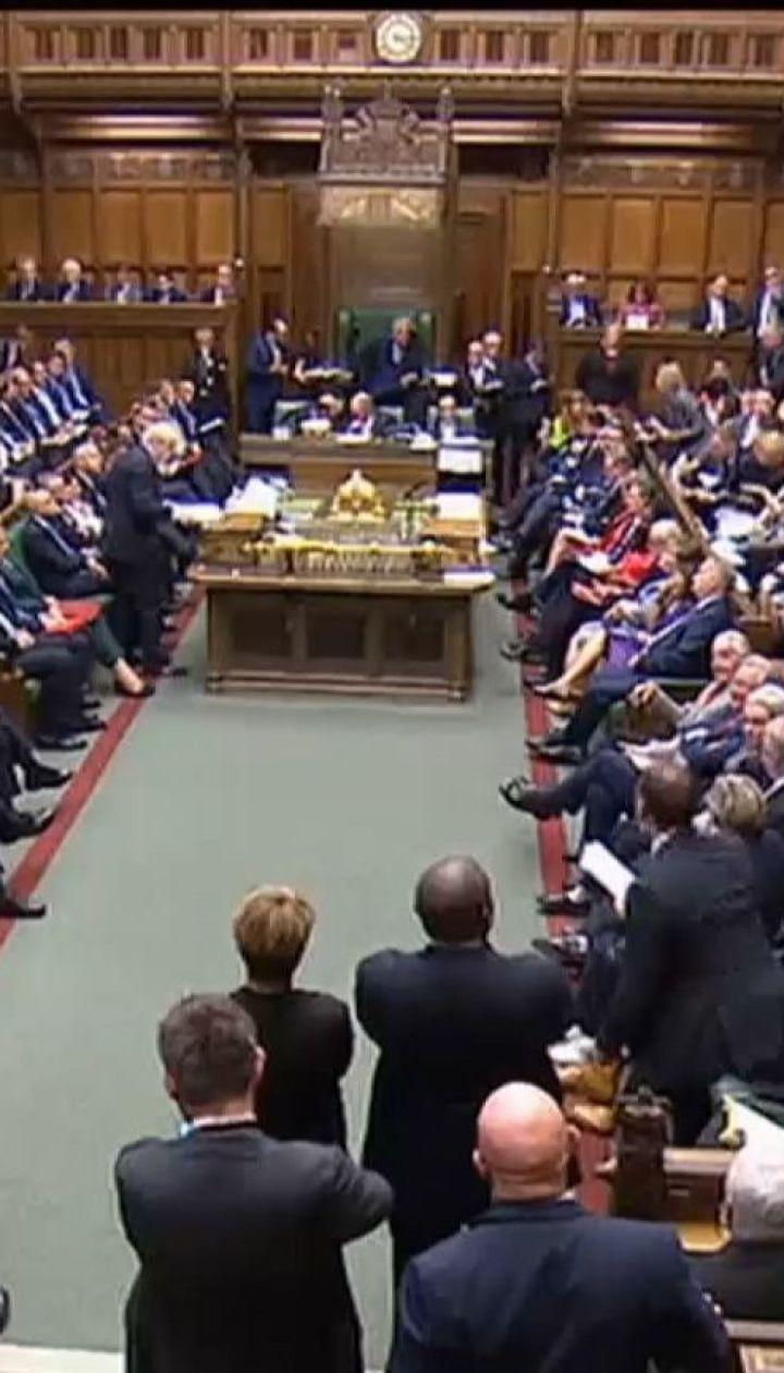 """Британські парламентарії ухвалили закон, що забороняє """"жорстке"""" розлучення з ЄС"""