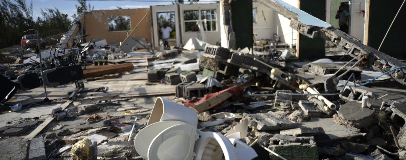 """На Багамських островах підтвердили загибель 50 людей від урагану """"Доріан"""""""