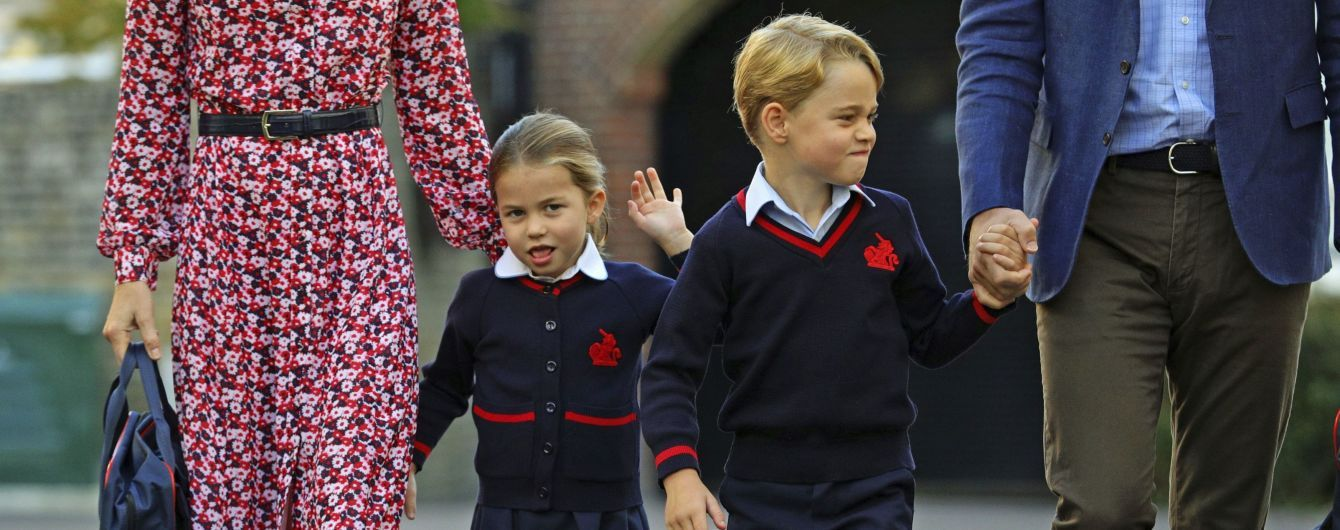 В Сети опубликовали официальный портрет принца Джорджа и принцессы Шарлотты