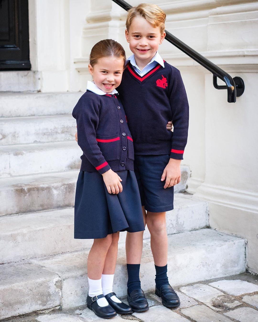 Принцеса Шарлотта та принц Джордж