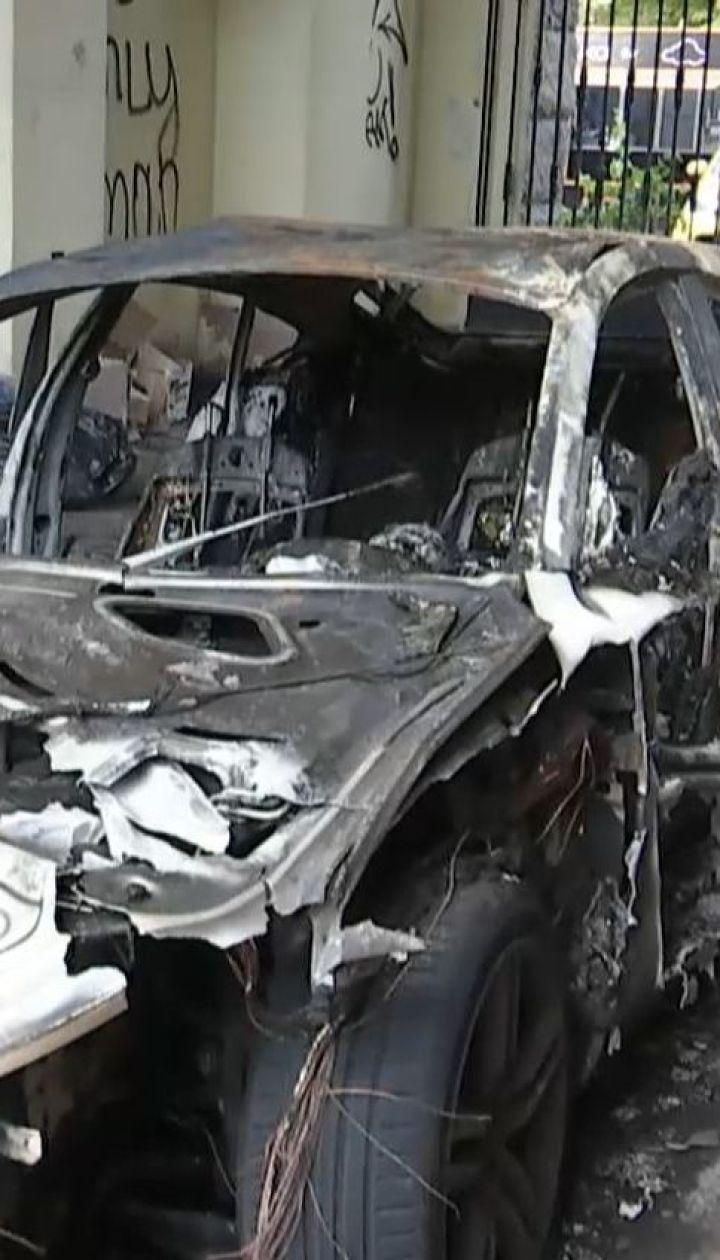 В столице сгорело авто, которое принадлежало невестке Валерии Гонтаревой