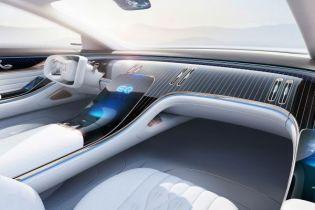 Mercedes показал салон электрического седана EQ