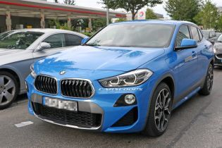 Автошпионы засняли гибрид BMW X2