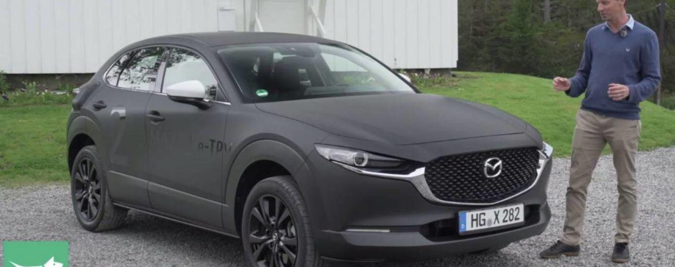 Mazda раскрыла характеристики своего первого электрокара. Видео