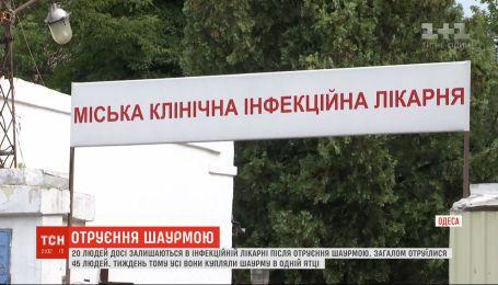20 человек, отравившихся шаурмой, до сих пор остаются в одесской инфекционной больнице