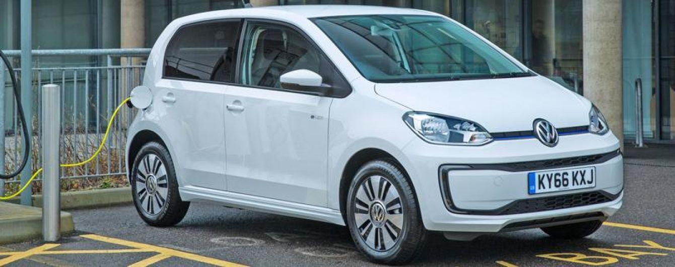 Volkswagen представил дальнобойный электрокар e-up! за 22 тысячи евро
