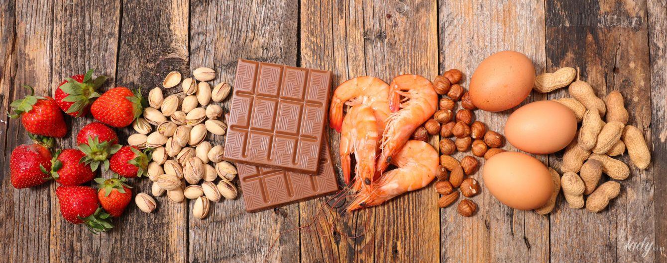 Пищевая аллергия: симптомы, диагностика и список опасных продуктов