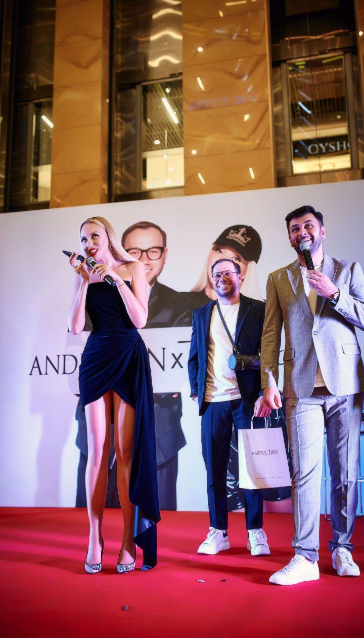 Andre Tan X Оля Полякова/Пресс-служба