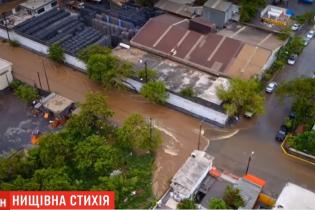 В Мексике из-за шторма возникли масштабные наводнения