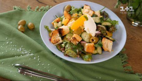 Португальский салат с оливками и апельсинами - Вкусный мир с Евгением Клопотенко