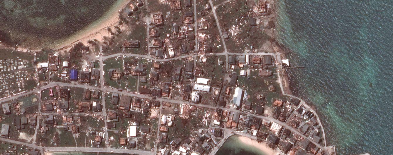 """""""Ничего не осталось"""". Жуткие последствия урагана Дориан в фото до и после"""