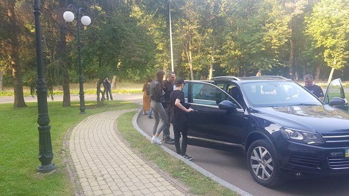 Сенцов поїхав з лікарні