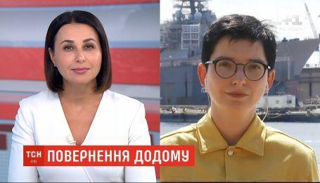 У США привітали українських військовополонених, які повернулися додому