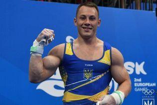 Украинские гимнасты завоевали пять медалей на Кубке мира в Венгрии