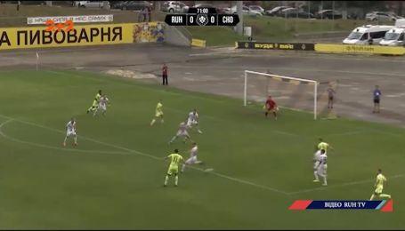 Рух - Черноморец - 2:0. Обзор матча Первой лиги
