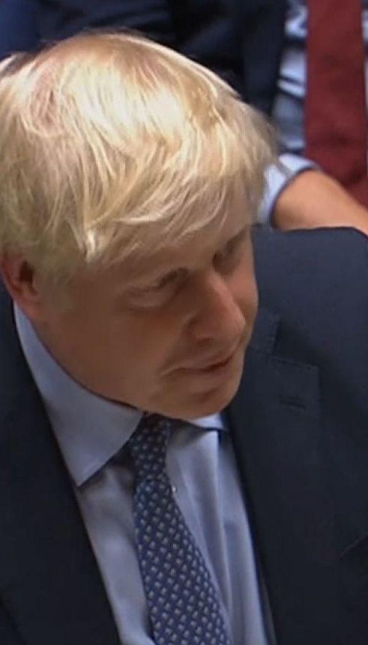 Борис Джонсон сподівається, що новий парламент дозволить йому вивести Британію з ЄС без угод