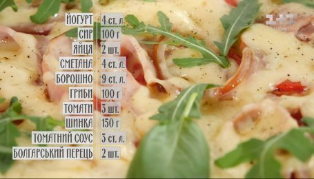 Піца на пательні - рецепти Сенічкіна