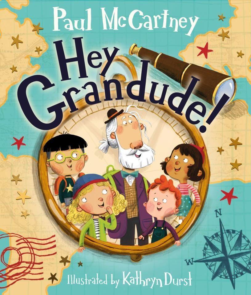 Пол Маккартні книжка для дітей Hey Grandude!
