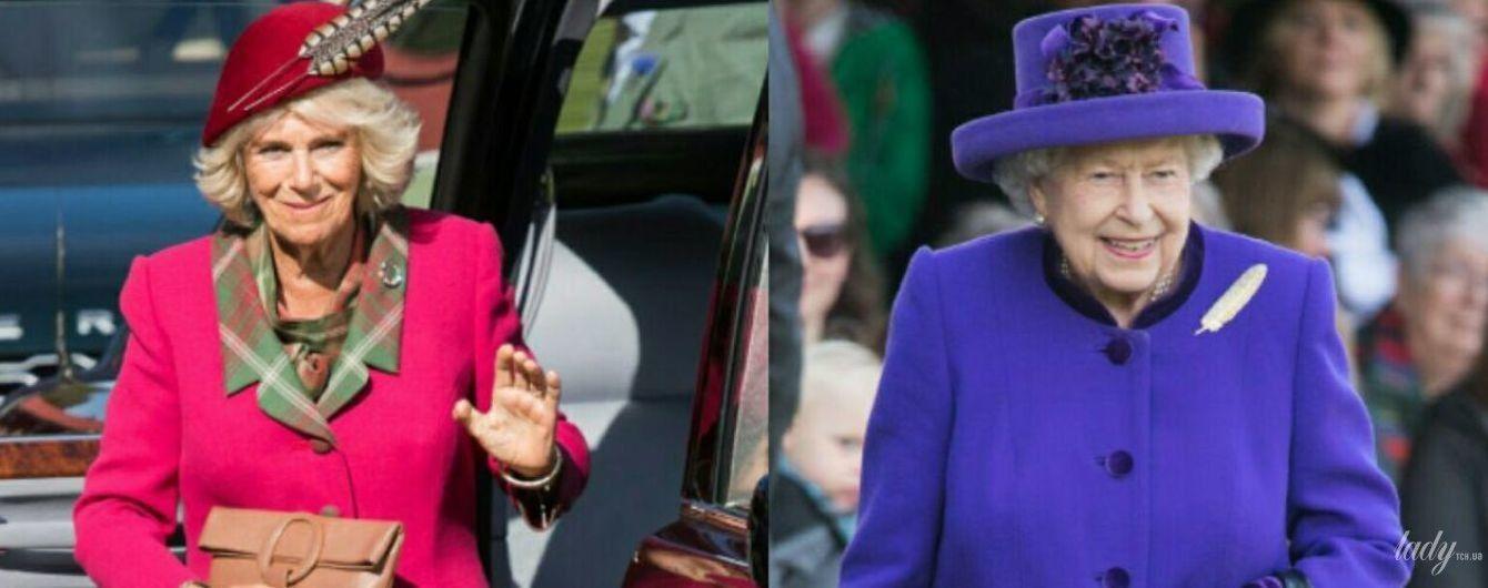 Затьмарила навіть королеву: герцогиня Корнуольська в ефектному рожевому вбранні блищала на заході