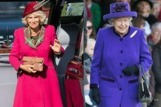 Затмила даже королеву: герцогиня Корнуольская в эффектном розовом наряде блистала на мероприятии